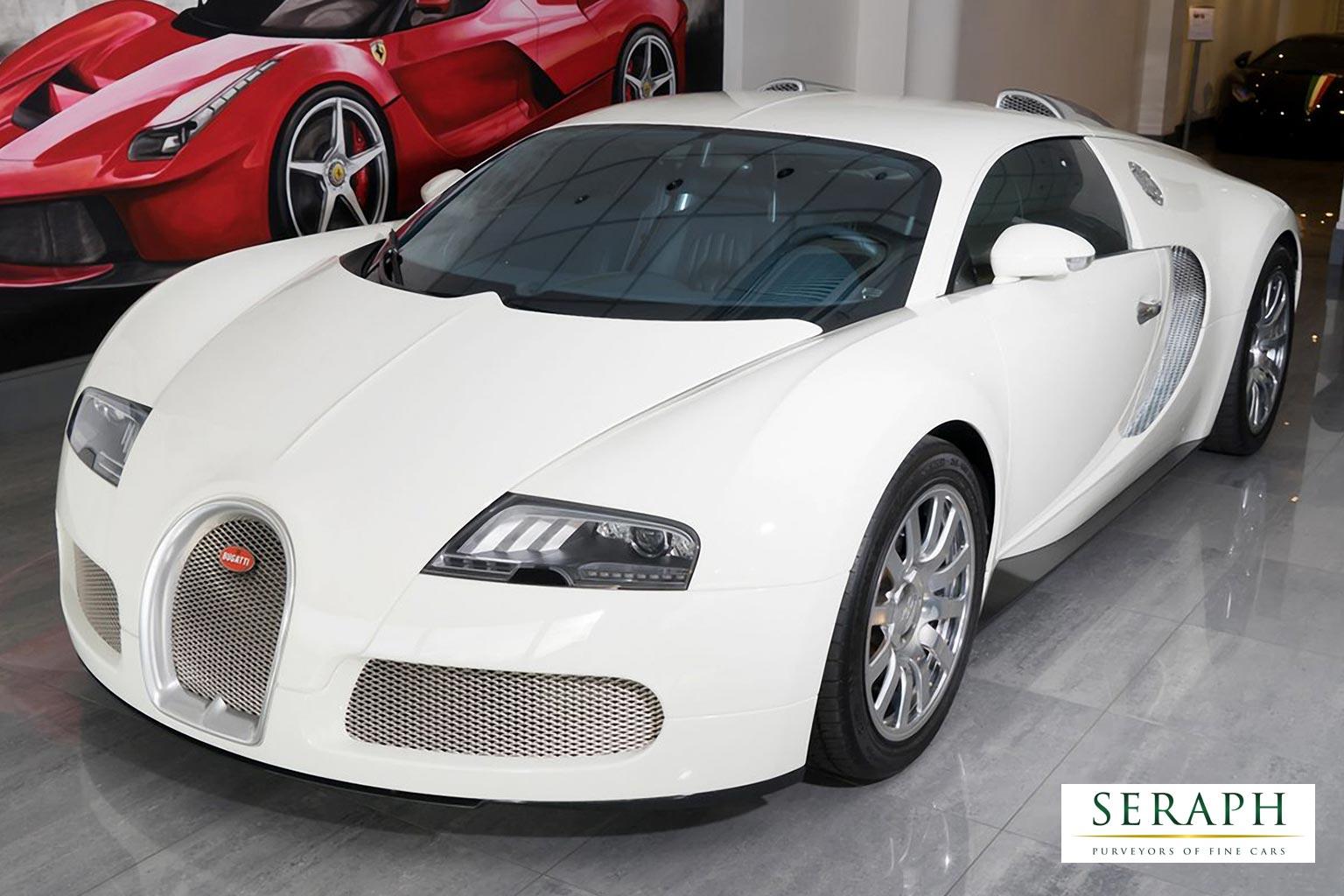 Bugatti Veyron 16-4 Bright White