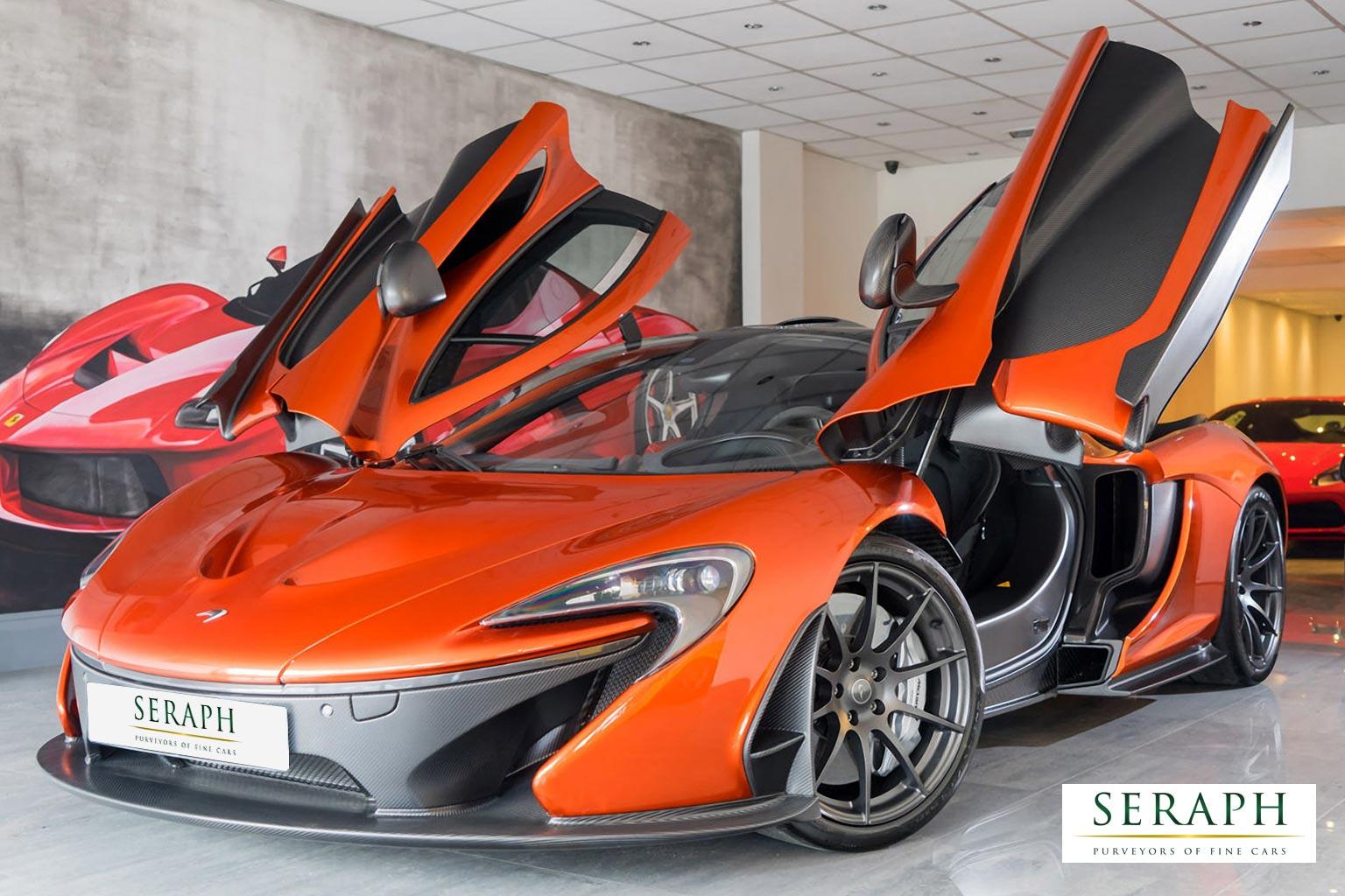 McLaren P1 V8 SSG Volcano Orange