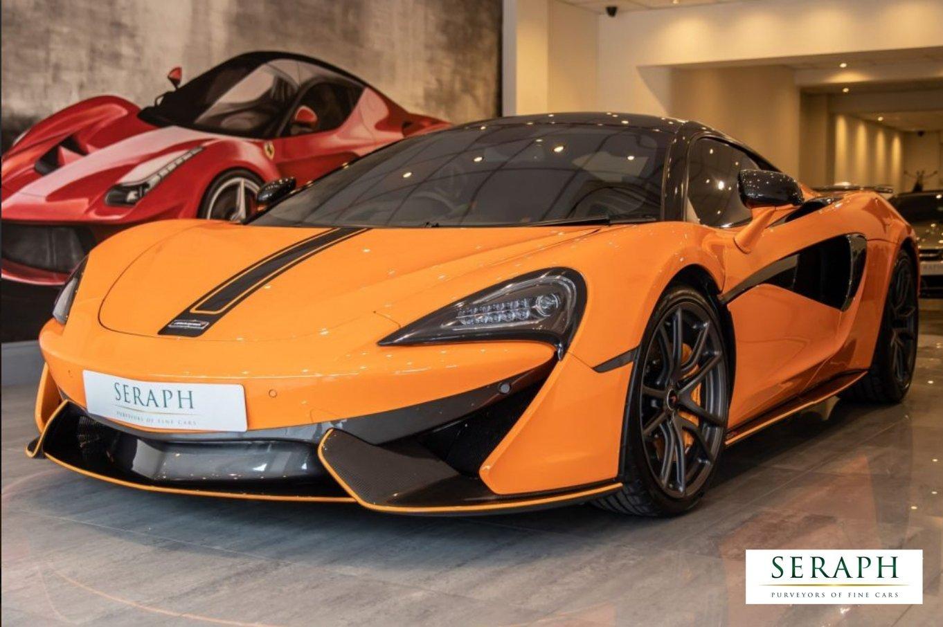 2017 66 McLaren 570S 3.8 V8 SSG 2dr Coupe