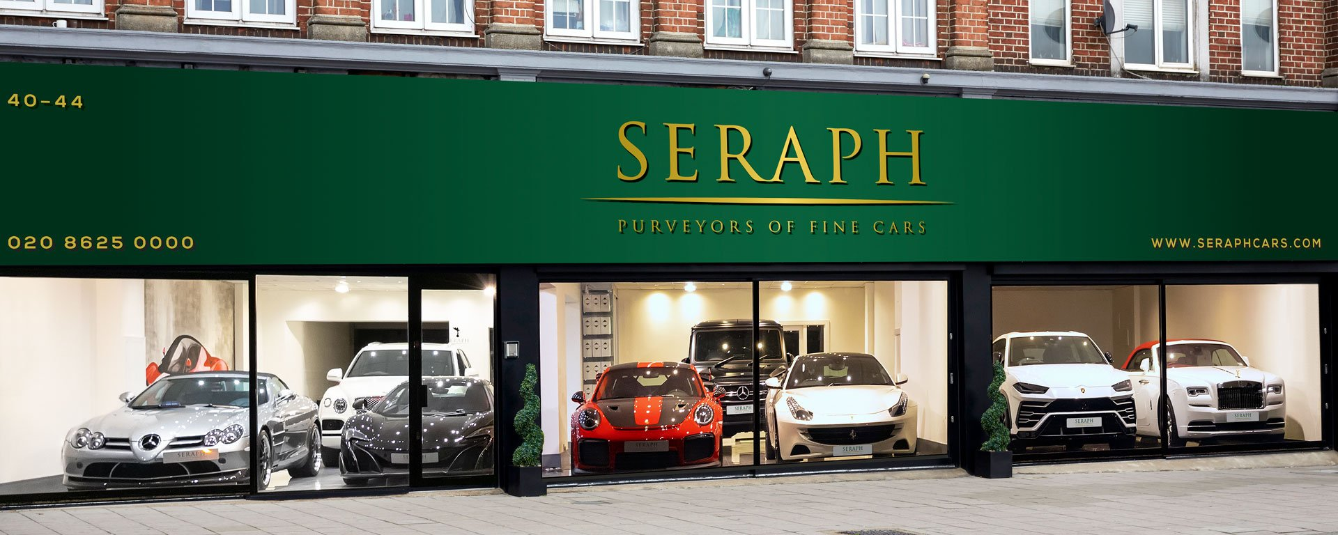 Seraph Cars London Showroom